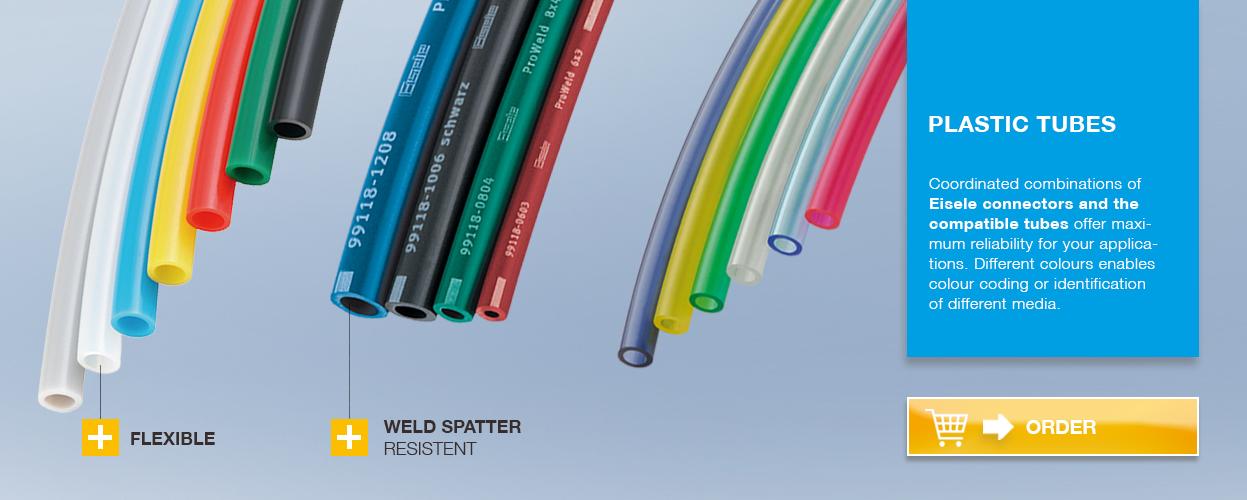 Banner plastic-tubes